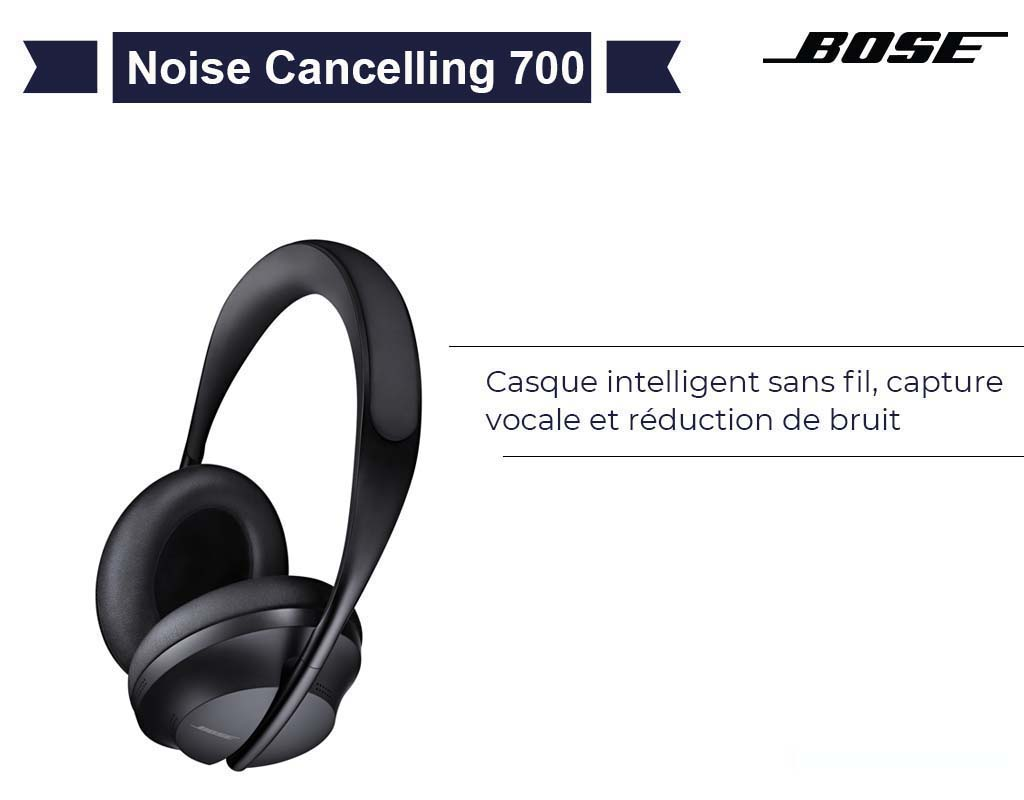 Casque Bose Cancelling 700