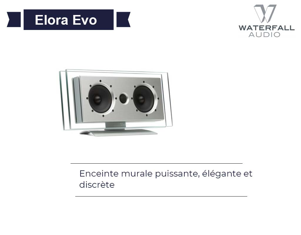 Elora Evo Center Waterfall