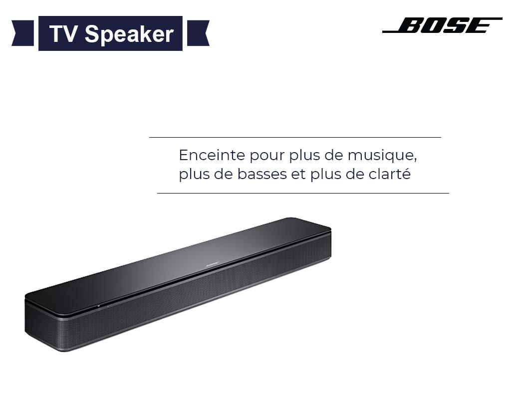 Enceinte Bose TV speaker