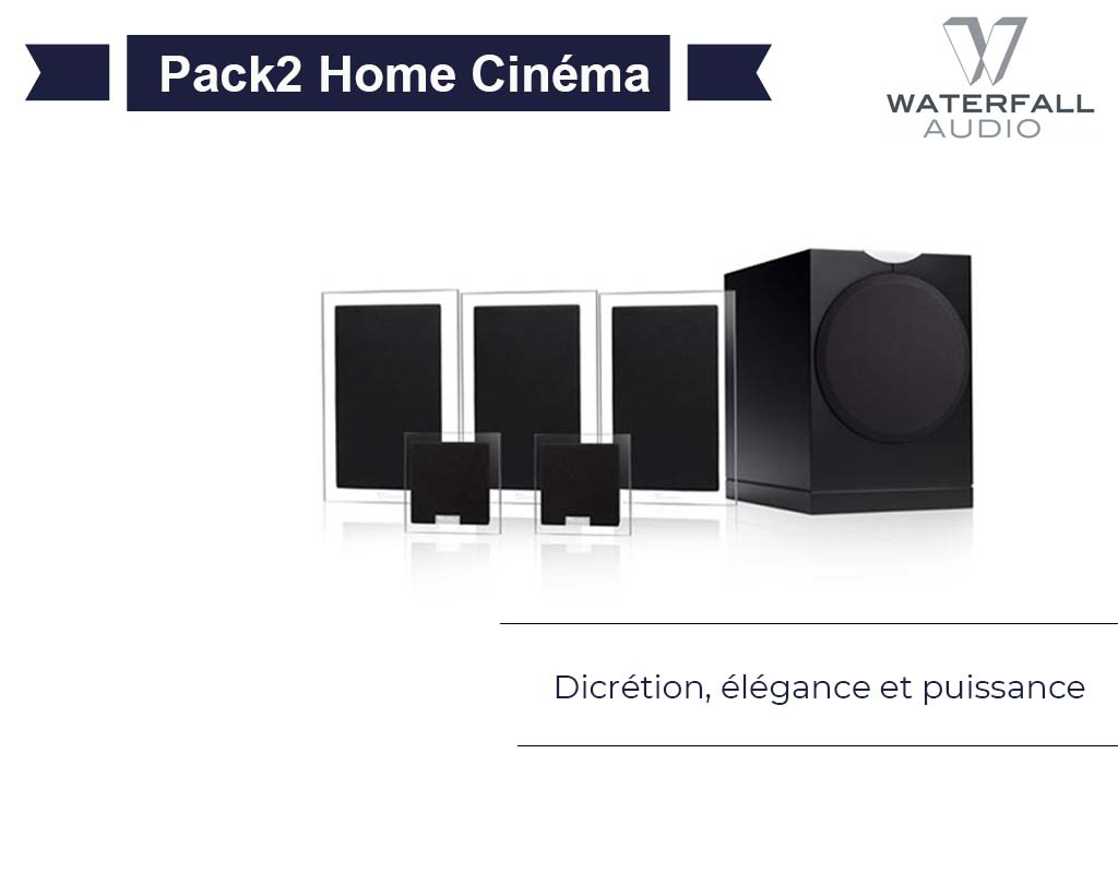 Pack2 Home Cinéma Waterfall