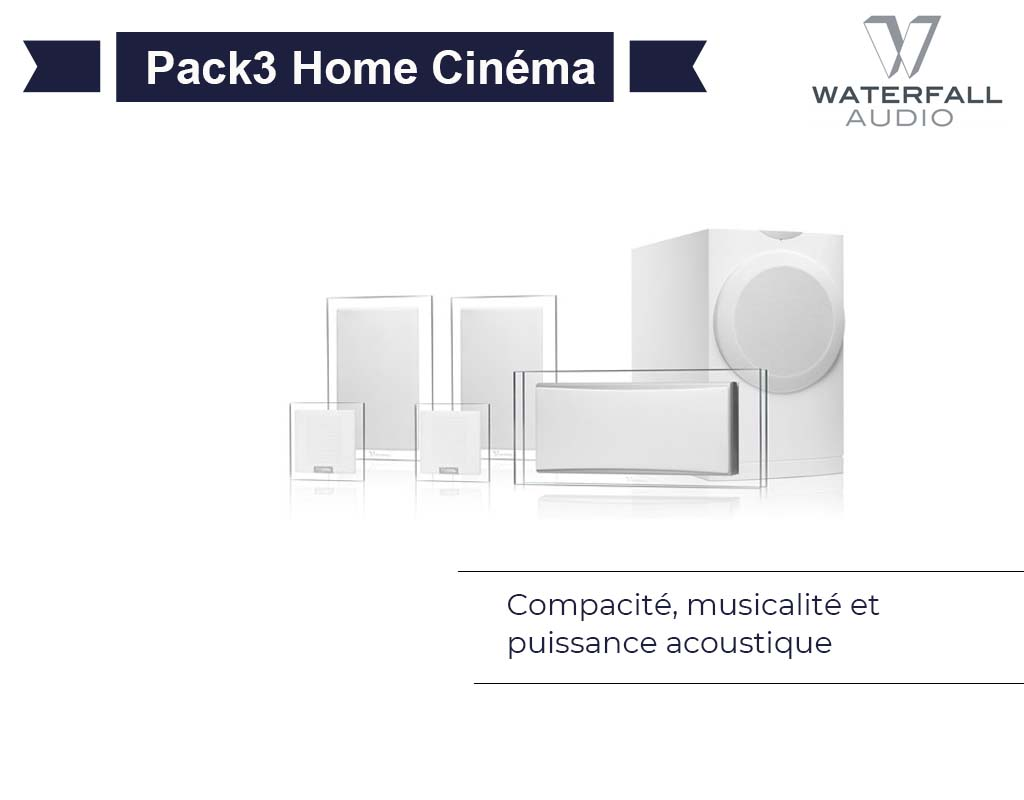 Pack3 Home Cinéma Waterfall